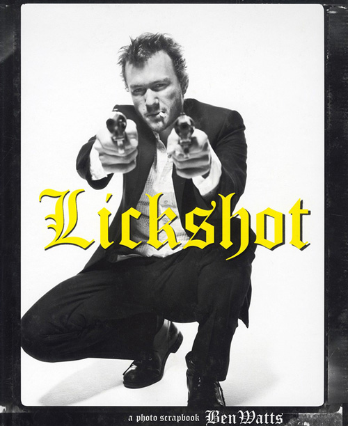 LICKSHOT book cover